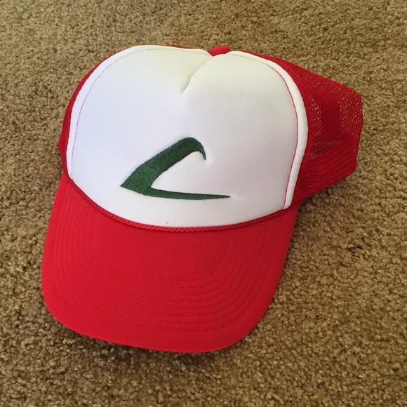 9b9cfceed06e5 Ash Ketchum Adjustable SnapBack Pokémon Hat. M 5ab7e67c3a112e3ebee9b028